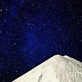 Milky Way Above White Mountain by Charline Xia