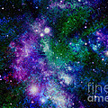 Milky Way Abstract by Carol Groenen