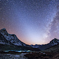 Milky Way And Zodiacal Light Ove by Jeff Dai