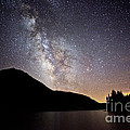 Milky Way At Highland Lakes by Dianne Phelps