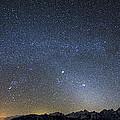 Milky Way Galaxy Over Jackson Hole by Mike Cavaroc