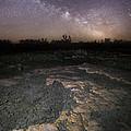 Milky Way On The Rock by Aaron J Groen
