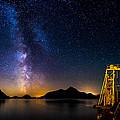 Milky Way Over Anvil Island by Alexis Birkill