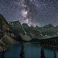 Milky Way Over Moraine Lake by Alan Dyer