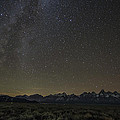 Milky Way Over The Tetons by Sheets Studios