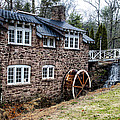 Mill Along The Delaware River In West Trenton by Bill Cannon