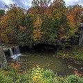 Mill Creek Park In Autumn by David Dufresne