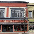 Mill End Store In Clare Michigan by Terri Gostola
