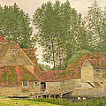 Mill On The Thames At Mapledurham, 1860 by George Price Boyce