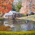 Mill Pond by Shirley Braithwaite Hunt