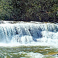 Mill Shoals Waterfall During Flood Stage by Duane McCullough