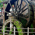 Water Wheel by Joedes Photography