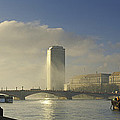 Millbank Tower During Fog, Lambeth by Panoramic Images