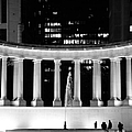 Millennium Monument And Fountain Chicago by Christine Till