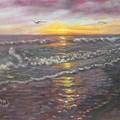 Miller Ocean Sunset by Gerry Furgason