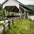 Millers Run Covered Bridge by Edward Fielding