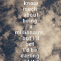 Millionaire by Nina Prommer