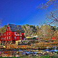 Historic Millmore Mill Shoulder Bone Creek by Reid Callaway