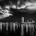 Milwaukee At Night by Randy Scherkenbach