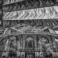 Milwaukee Brewers Miller Park Flag Bnw Painted Digitally 2 by David Haskett II