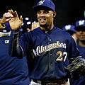 Milwaukee Brewers V Philadelphia by Rich Schultz