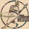 Milwaukee Brewers Vintage Art by Florian Rodarte