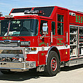 Milwaukee Fire Dept. Rescue 1  by Susan McMenamin