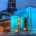 Milwaukee Pac Evening Glow by Andrew Slater