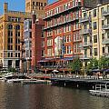 Milwaukee River Architecture 4 by Anita Burgermeister