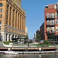 Milwaukee River Architecture 5 by Anita Burgermeister