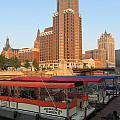 Milwaukee River Theater District 5 by Anita Burgermeister