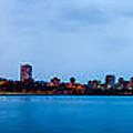 Milwaukee Skyline - Version 1 by Steven Santamour