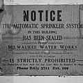 Milwaukee Water Works by Mike Tanner