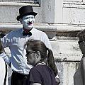 Mime In Venice by David Resnikoff
