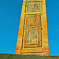 Minaret For Call To Prayer In Tangiers-morocco by Ruth Hager