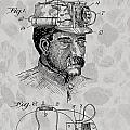Miner's Lamp Patent by Dan Sproul