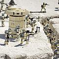 Mini Hoth Battle by Ricky Barnard