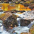 Mini Waterfall In The Porkies by Kathryn Lund Johnson
