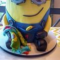 Minion Dessert Cake by Susan Garren
