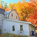 Minnesota Barn by Amanda Stadther
