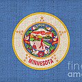 Minnesota State Flag by Pixel Chimp