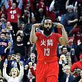Minnesota Timberwolves V Houston Rockets by Scott Halleran