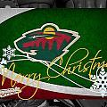 Minnesota Wild Christmas by Joe Hamilton