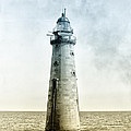 Minots Ledge Lighthouse by Bill Cannon