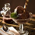 Mint Choc Chip Ice Cream by Amanda Elwell