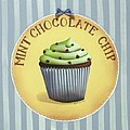 Mint Chocolate Chip Cupcake by Catherine Holman