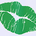 Mint Green Kiss by Nina Prommer