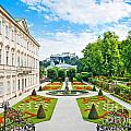 Mirabell Gardens In Salzburg by JR Photography