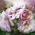 Miracle Of A Rose - Mauve by Carol Cavalaris