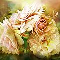 Miracle Of A Rose - Yellow by Carol Cavalaris